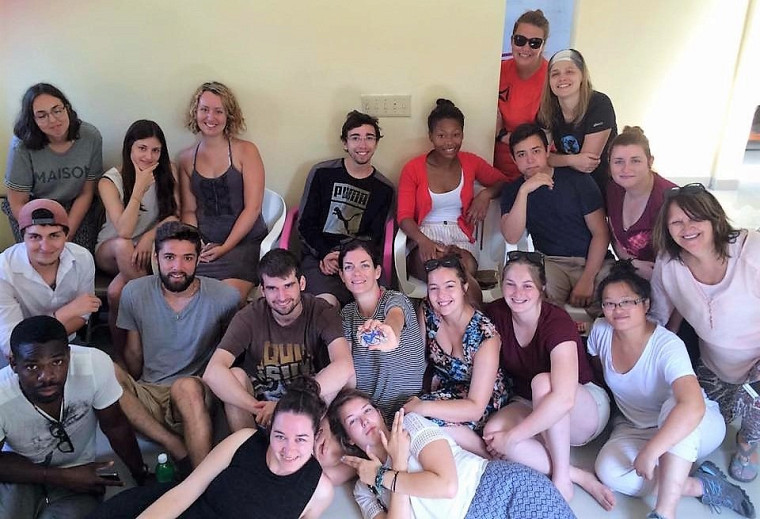 Un voyage humanitaire formateur pour les étudiantes et étudiants de l'ÉPA.
