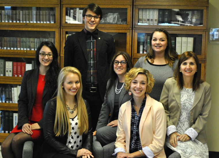 Le comité organisateur : Sabrina Landry-Bergeron, Geneviève Richard, Amélie Cournoyer, JoséePerreault, Sylvie Chabot, Samuel Nadeau et Élisabeth Bouffard.