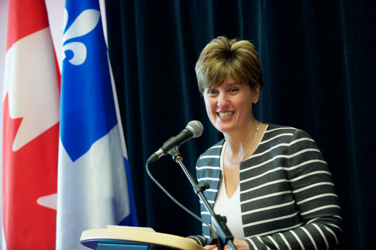 La ministre du Développement international et de la Francophonie, l'honorable Marie-Claude Bibeau.