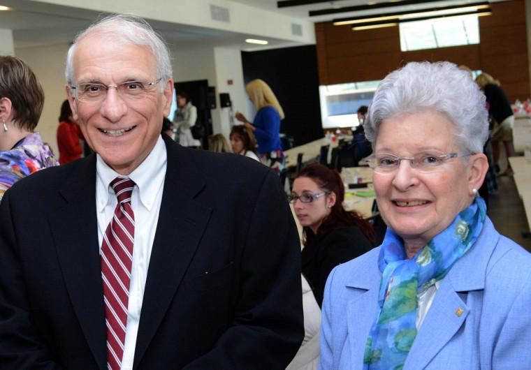 Les professeurs Robert P. Kouri et Suzanne Philips-Nootens figuraient parmi les conférenciers invités.