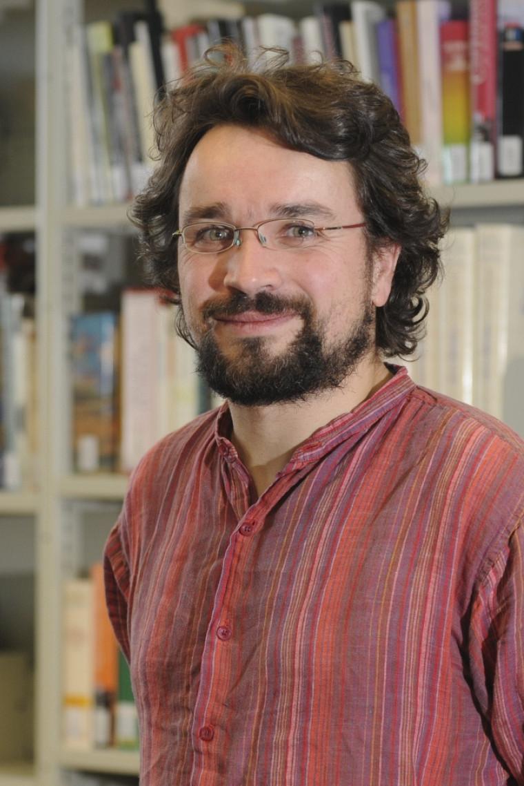 Jean-Pierre Le Glaunec, professeur au Département d'histoire de l'UdeS