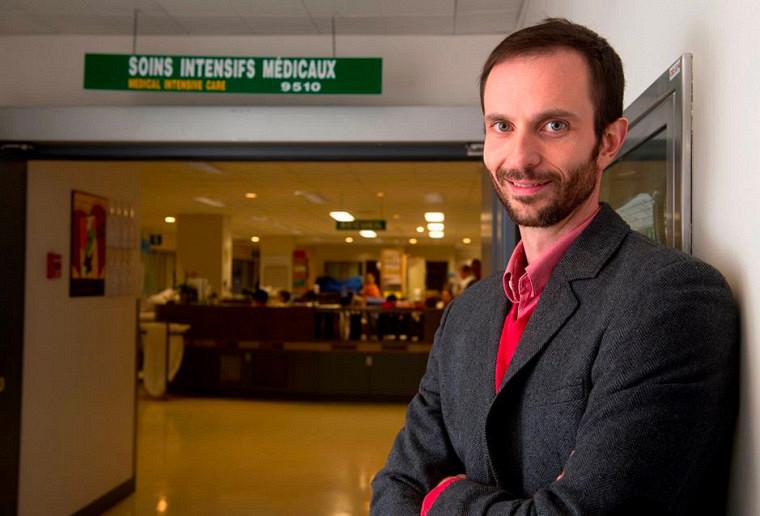 François Lamontagne est professeur à la Faculté de médecine et des sciences de la santé de l'UdeS, précisément au Département de médecine, ainsi que chercheur au Centre de recherche du CHUS et médecin associé au CIUSSS de l'Estrie – CHUS.