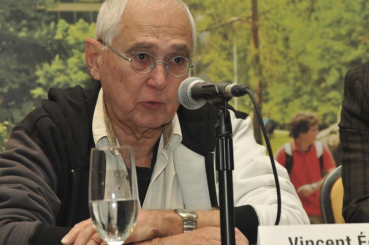 Le professeur Vincent Echavé, directeur de la mission.