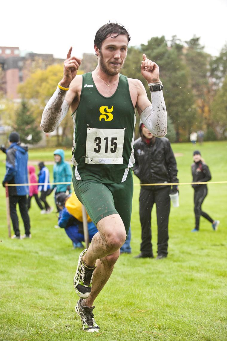 Olivier Lavoie a dominé le circuit universitaire québécois de cross-country.