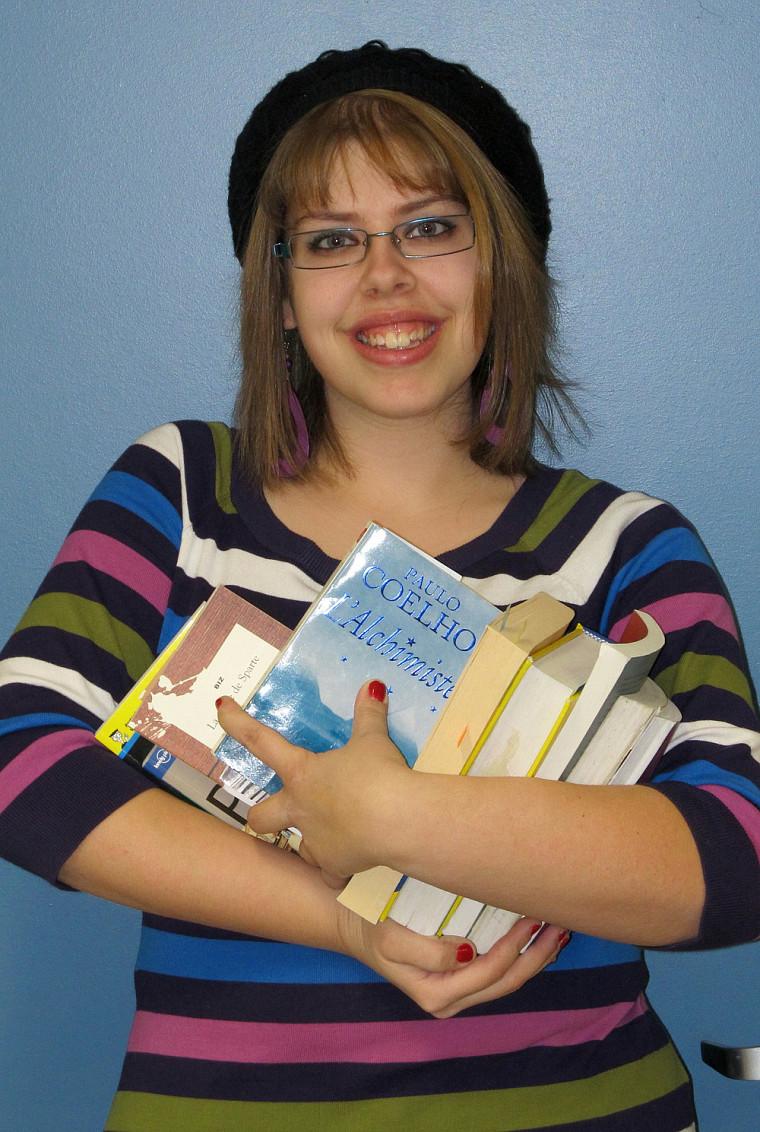 Valérie Morin, l'organisatrice de la Foire du livre qui aura lieu les 21et 22février à la Faculté d'éducation.