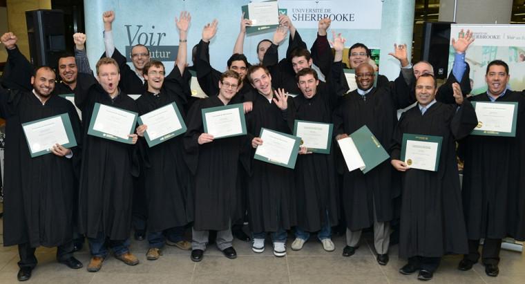 Les heureux diplômés 2013 du CeFTI.