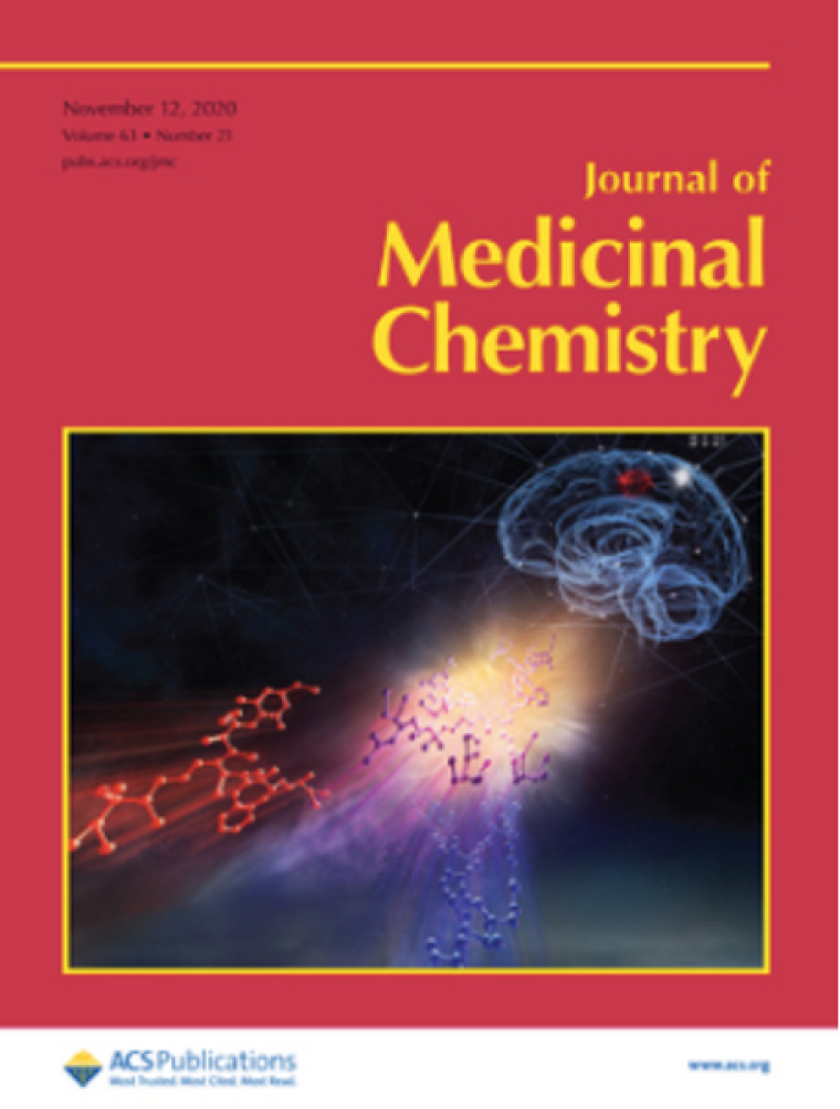 Couverture du magazine Journal of Medicinal Chemistry dans lequel l'article a été publié