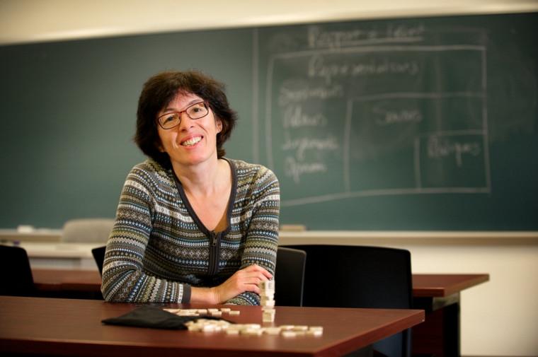 Christiane Blaser, professeure à la Faculté d'éducation