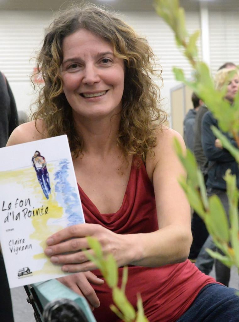Claire Vigneau, lauréate du prix Alfred-DesRochers.