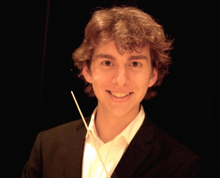 Félix Ste-Marie, finissant au baccalauréat en direction d'orchestre