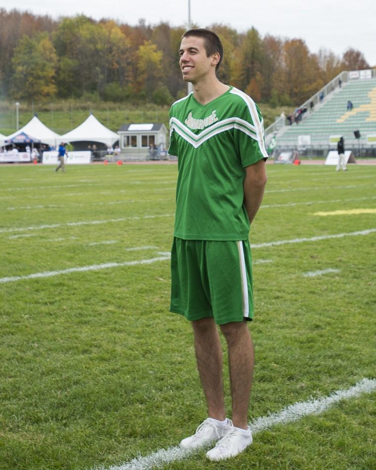 Adamy Roberge Desbiens s'est blessé lors de la première prestation du Vert&Or dimanche au Championnat FCQ à Saint-Hyacinthe.