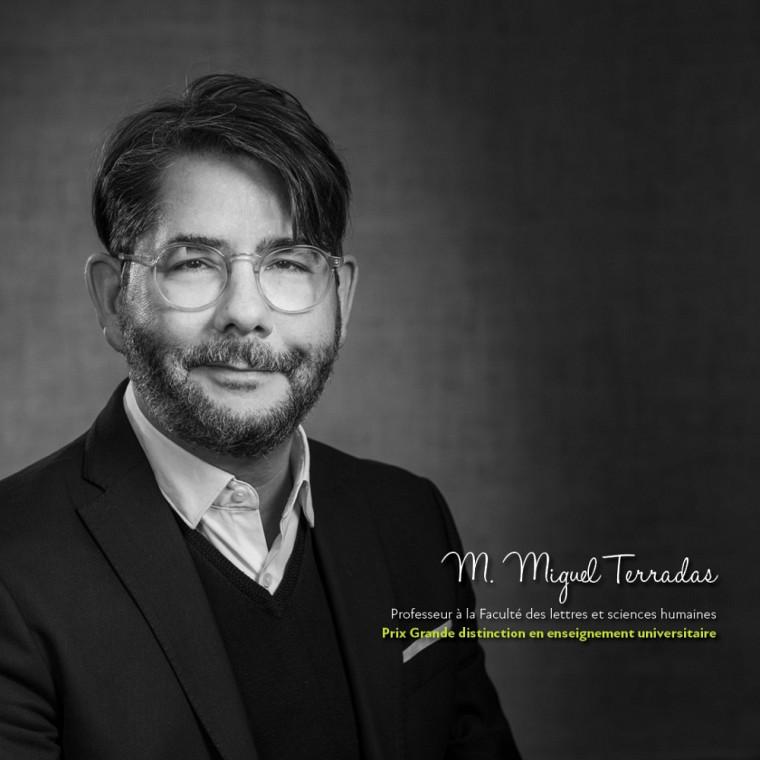 Miguel Terradas, professeur au Département de psychologie.