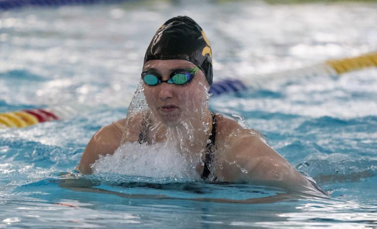La nageuse recrue de l'UdeS, Marie-Laurence Godin.