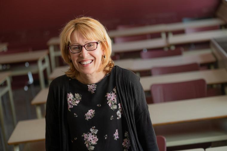 Sylvie Mathieu est conseillère pédagogique à l'UdeS depuis 26 ans.