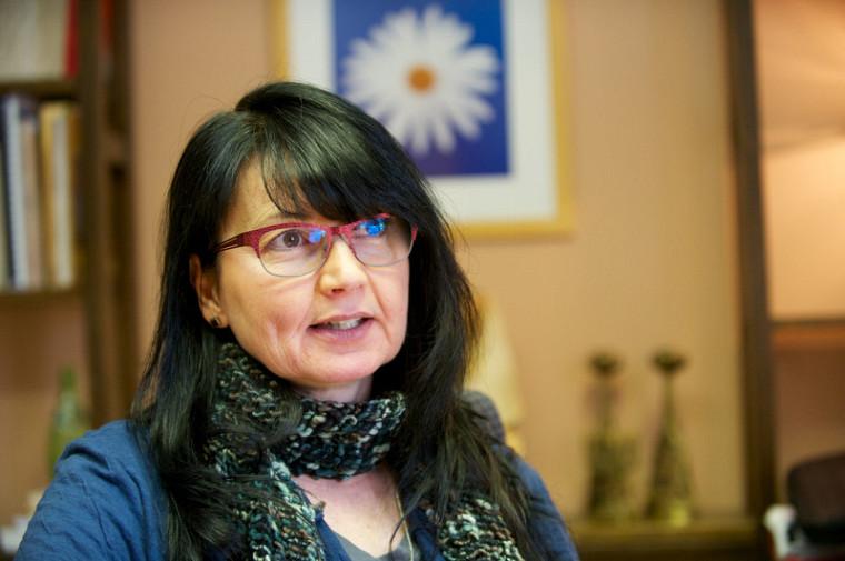 Martine Pelletier, professeure au Département des lettres et communications de la Faculté des lettres et sciences humaines