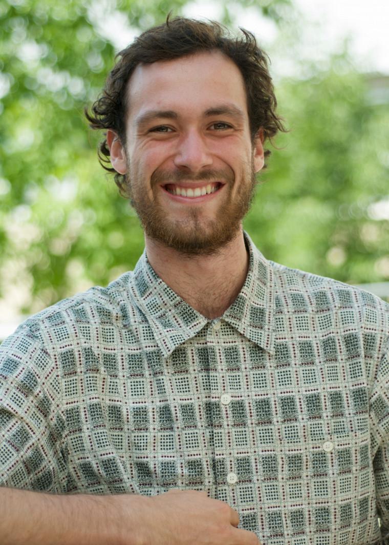 Vincent Boisclair, étudiant au baccalauréat en études de l'environnement