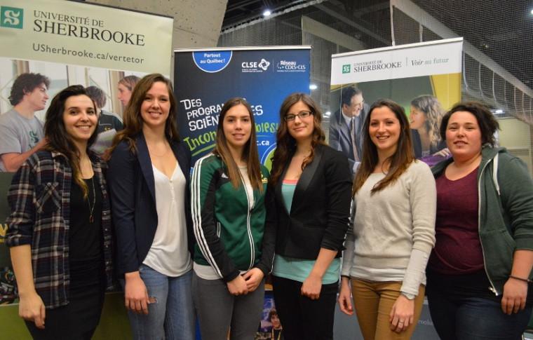 Les marraines 2015 de l'événement «Les filles et les sciences».