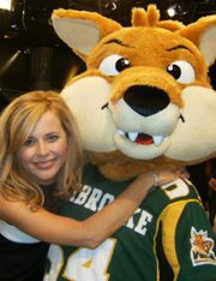 Sherlo a fait connaissance avec Julie Snyder