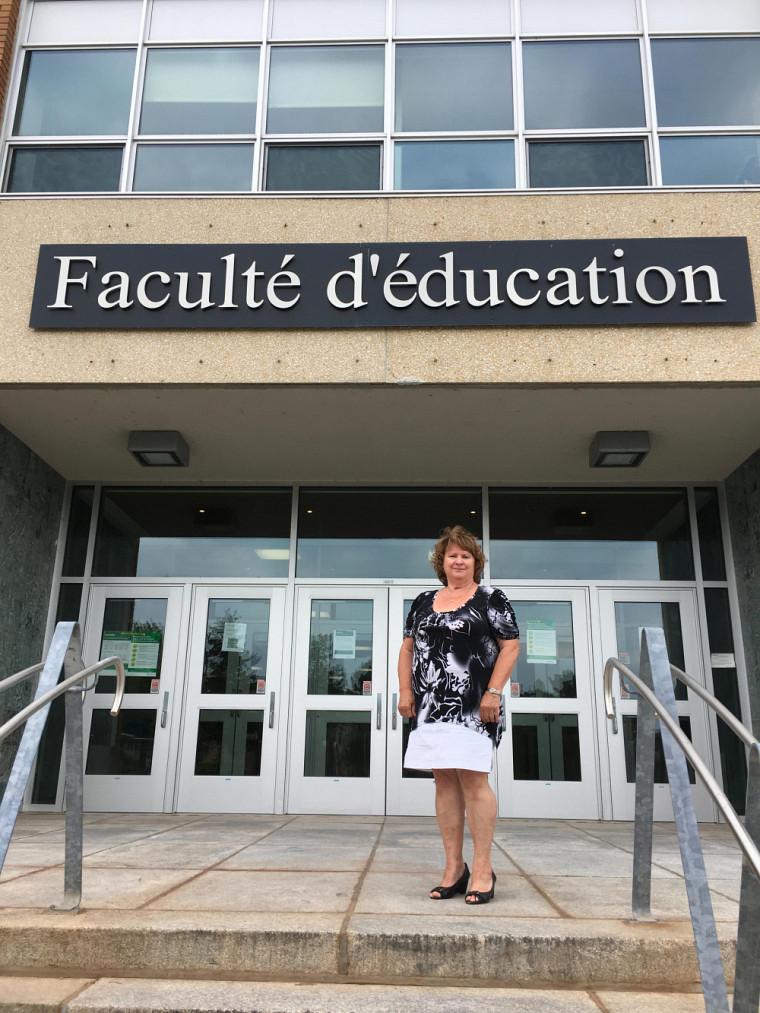 Gaëtane Marcoux a enseigné près de 30 ans au primaire et plus de 20 ans à l'UdeS.