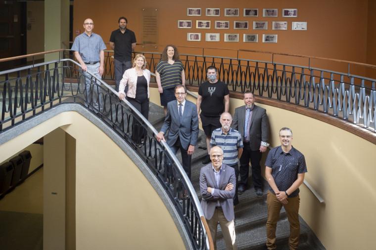 Les 10 signataires de la convention UdeS-SCCCUS
