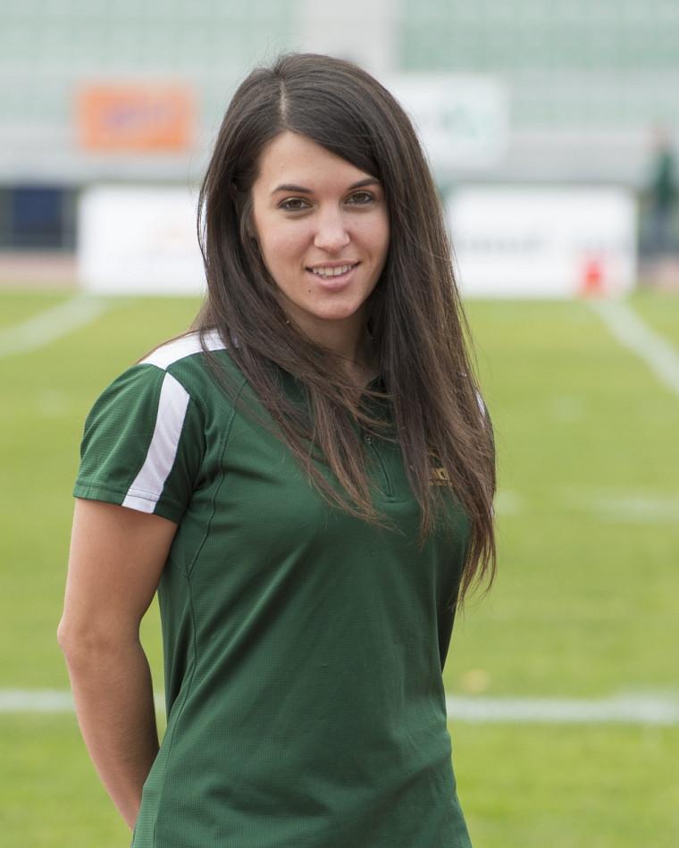 L'entraîneur du Vert & Or en cheerleading Pana Giannakouros.