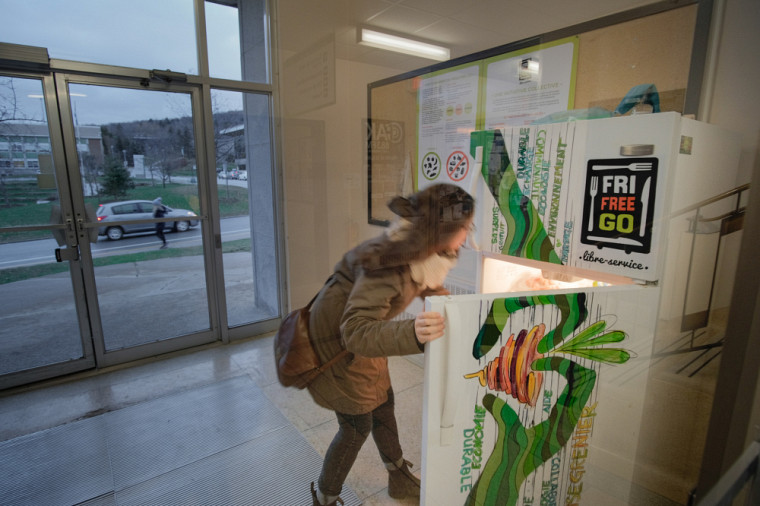 Le FreeGo libre-service a pour mission la réduction du gaspillage alimentaire.