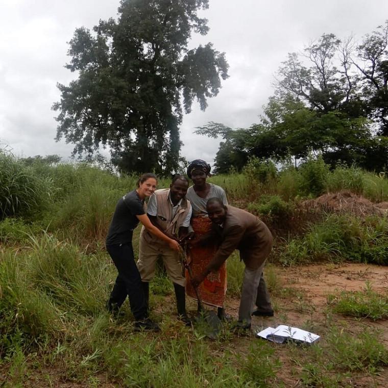 Le projet Construction d'un centre communautaire pour la formation technique des communautés au nord du Ghana du Groupe de collaboration internationale en ingénierie de l'UdeS.