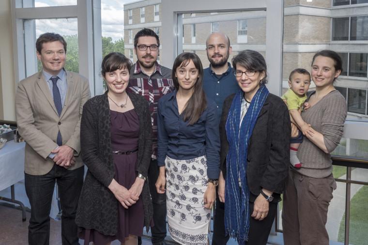 Derek McKee, Hélène Mayrand, Nicholas Thiffault, Sabrina Tremblay-Huet, Pierre Pariseau-Legault,Karin Mickelson et Sophie Audette-Chapdelaine.