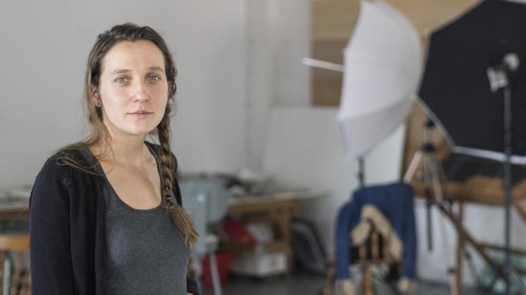 Joanna Chelkowska, diplômée en pratiques artistiques actuelles à l'Université de Sherbrooke