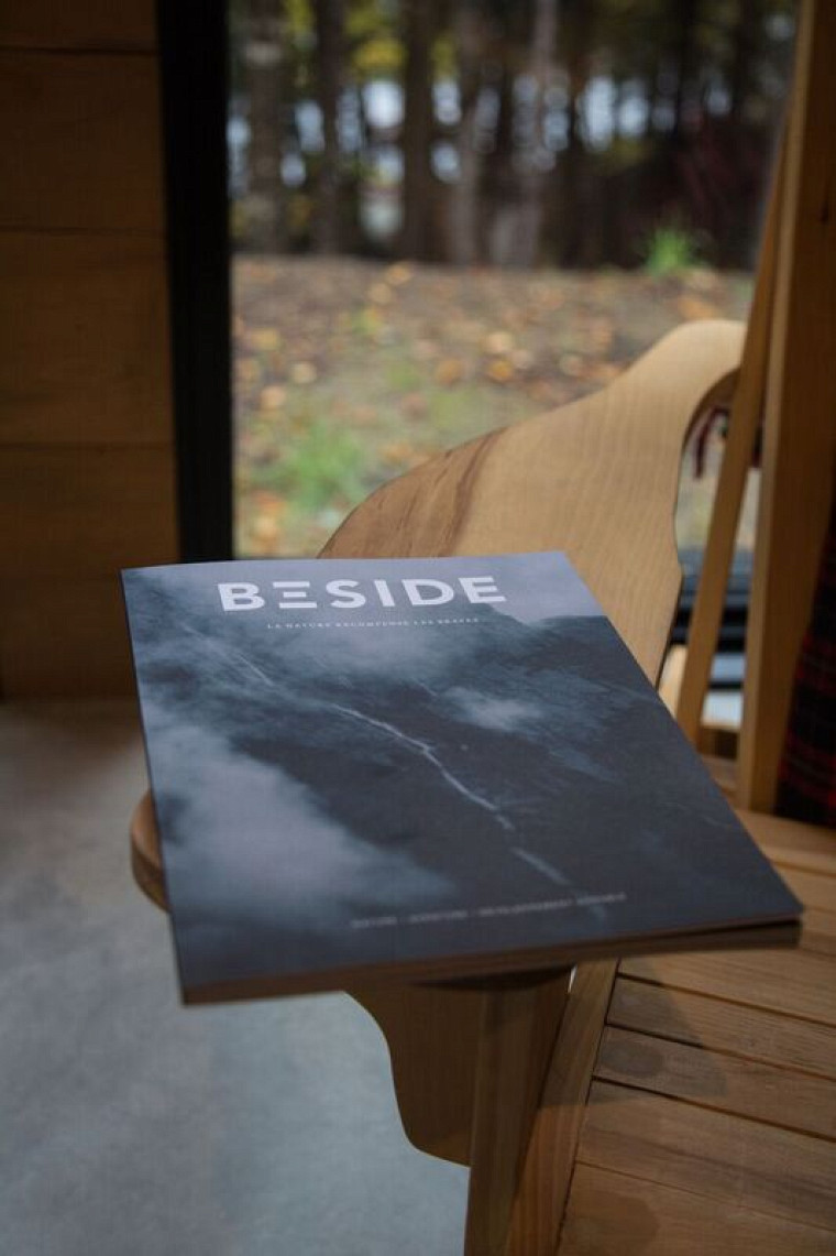 Le nouveau magazine BESIDE.