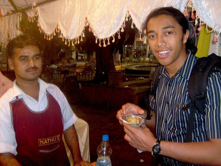 L'Inde permet de découvrir une cuisine épicée mais succulente.