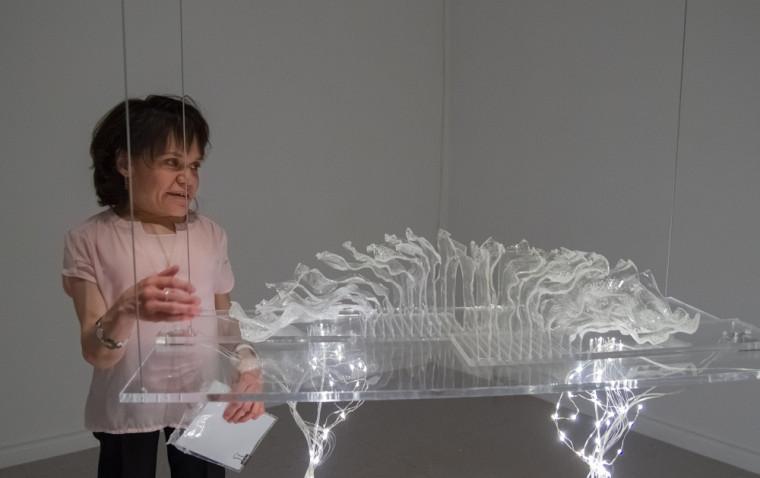 Isabelle Renaud et son oeuvre Hémisphères