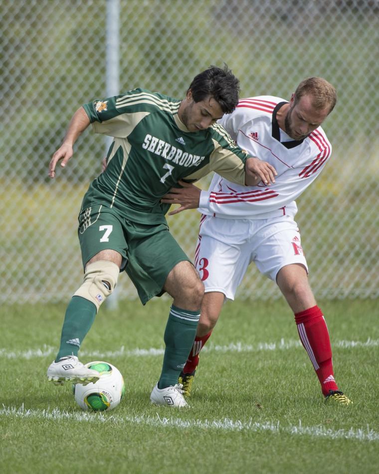 Ahmed Ghachem a été choisi joueur du match dans le camp du Vert&Or dans un revers de 1 à0 face aux Redmen de McGill vendredi soir, à Montréal.