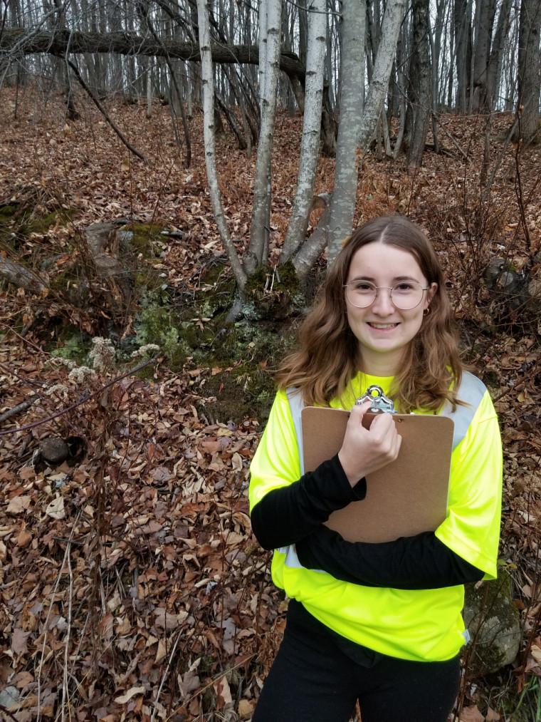 Ariane Barrette, étudiante en écologie