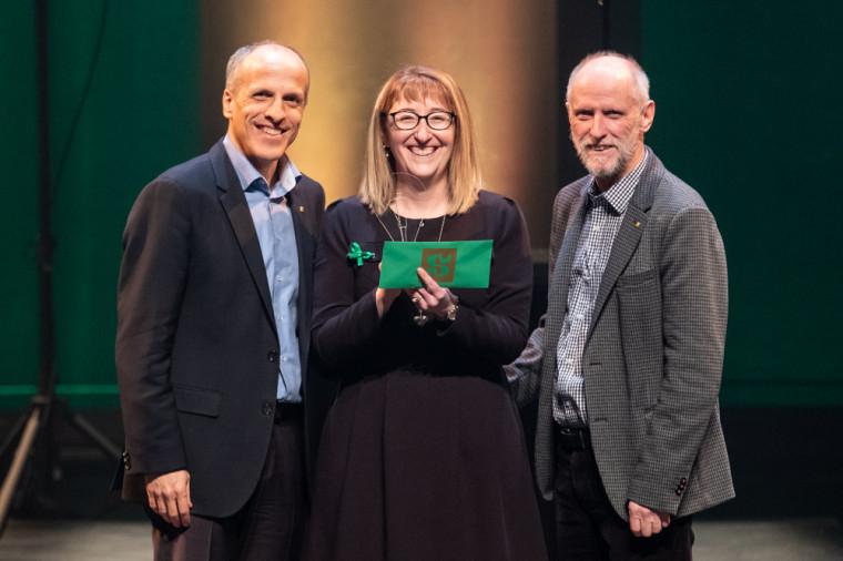 Marie-Josée Fortier, prix Respect