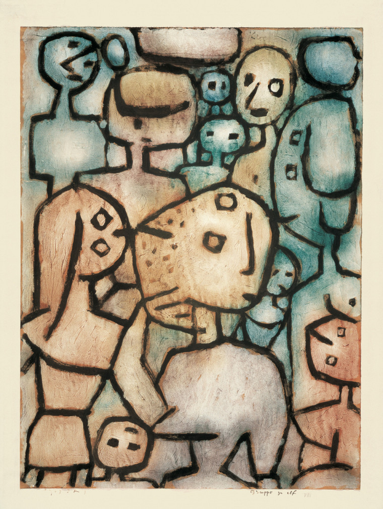 Paul Klee, Le Groupe des Onze, © Musée de Berne