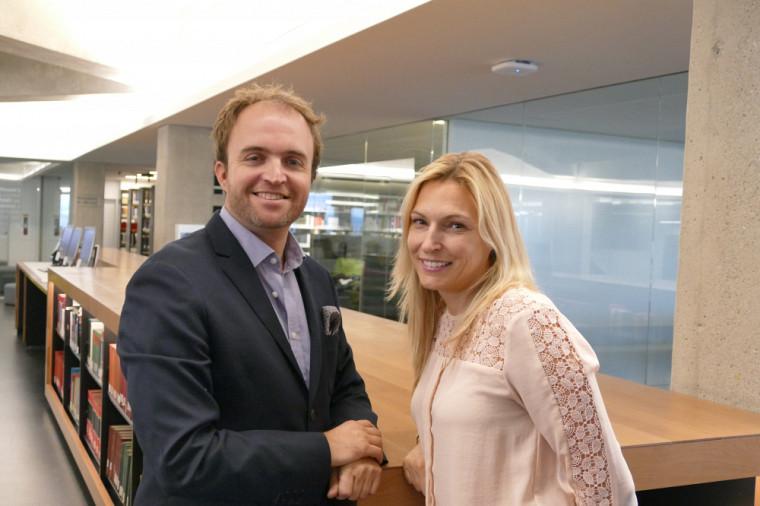David Pavot et Geneviève Dufour.