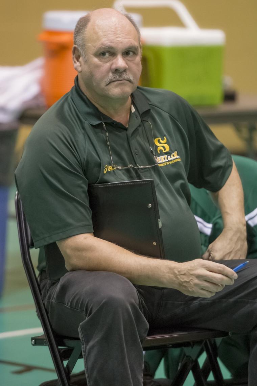 L'entraîneur Denis Fontaine.