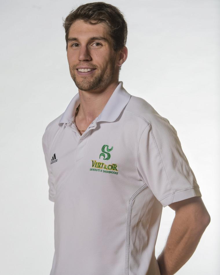 L'entraîneur-chef, Guillaume Richard.