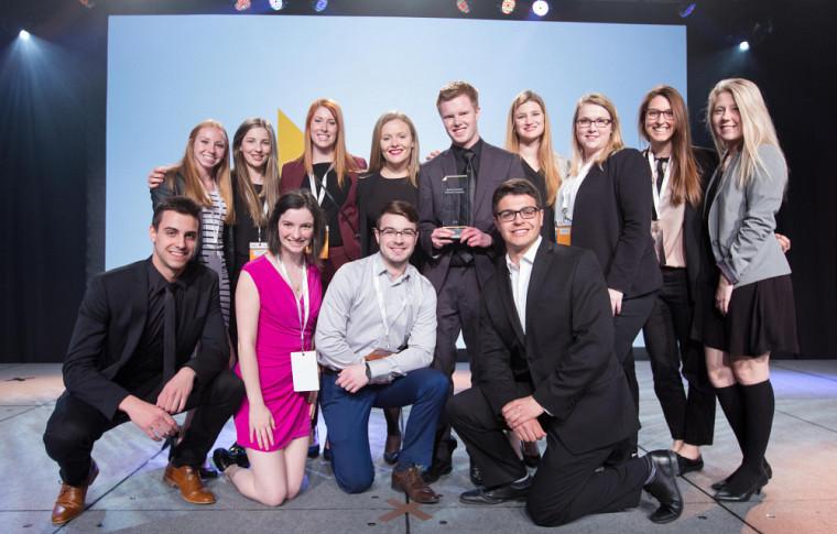 Fondée en janvier 2015, l'équipe Enactus de l'UdeS forme la prochaine génération de leaders.