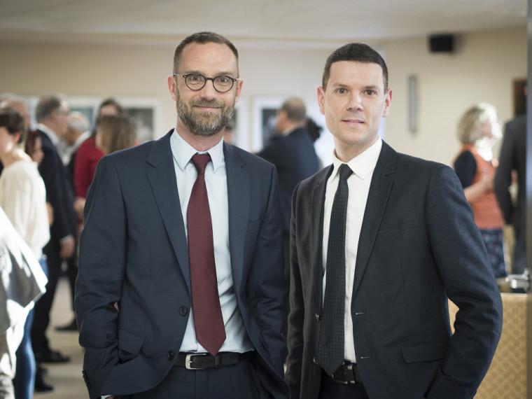 David Koussens et Bertrand Lavoie