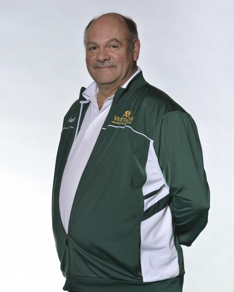 L'entraîneur du Vert & Or Denis Fontaine