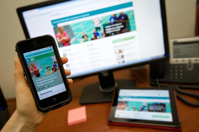 Les nouveaux sites Internet migreront vers un affichage flexible pour s'adapter à l'appareil de navigation utilisé.