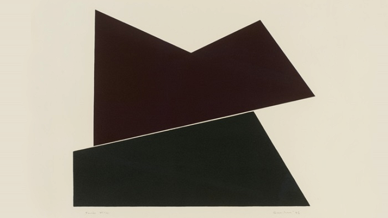 Richard-Max Tremblay,Ombre # 2,2004. Collection Université de Sherbrooke. Don de Marie-Agnès Parent.