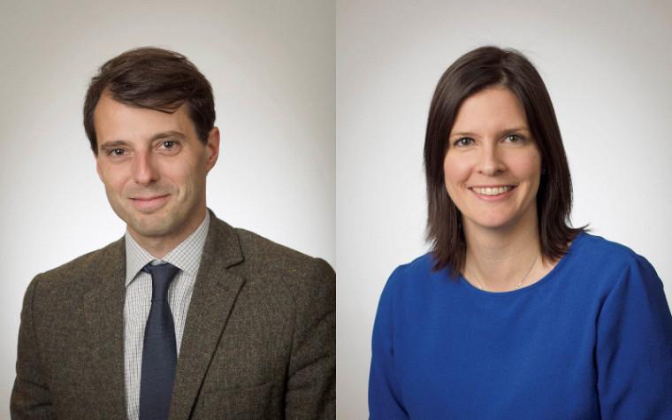Les professeurs Maxime St-Hilaire etMarie-Claude Desjardins.