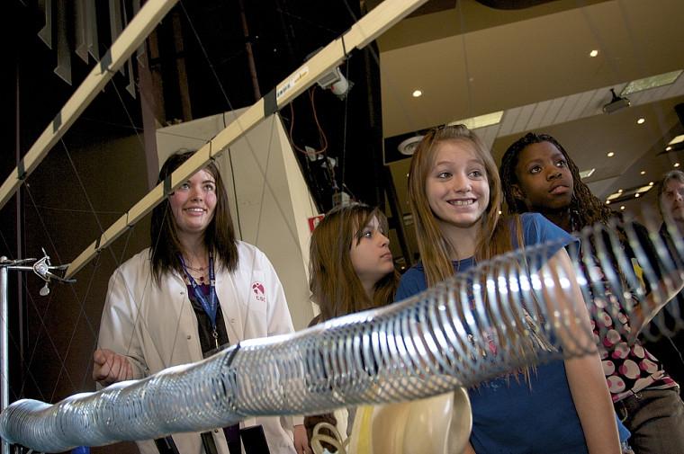 Participantes à l'Expo-sciences Bell 2009