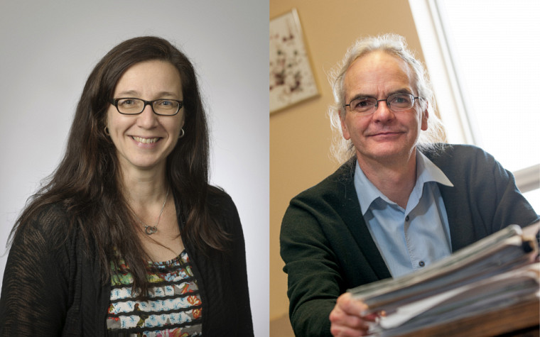 Les professeurs Annie Lambert et Paul Morin, coresponsables de l'École d'été 2018 en travail social.