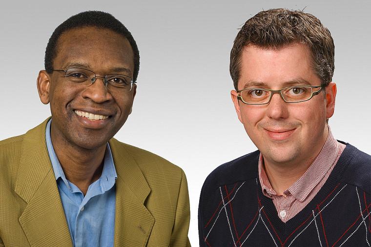 Froduald Kabanza et Louis Valiquette
