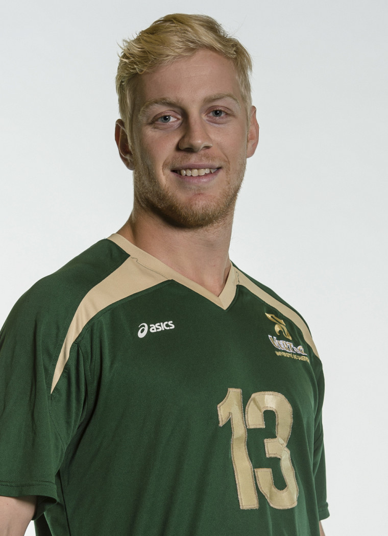 Le volleyeur du Vert & Or Hugo Rosso-Bonneau.