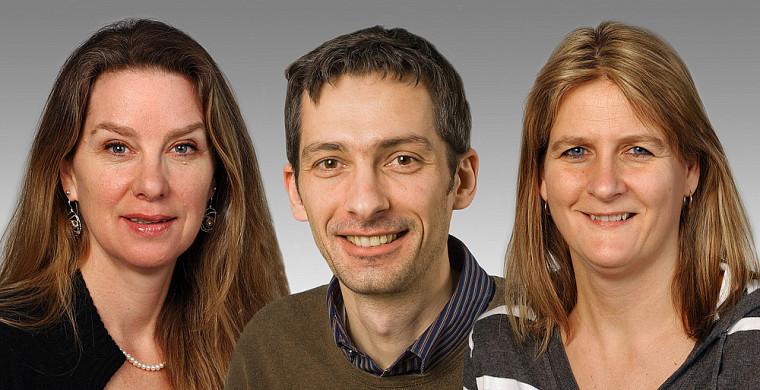 Rona Graham, Vincent Burrus et Nathalie Rivard